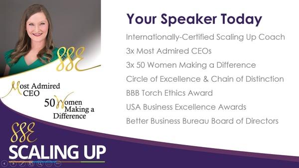 Speaker Info - Stacy Eads