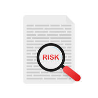 analyze risk post-close audit for mortgage origination