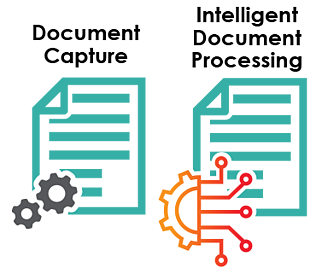 difference between document processing and document capture