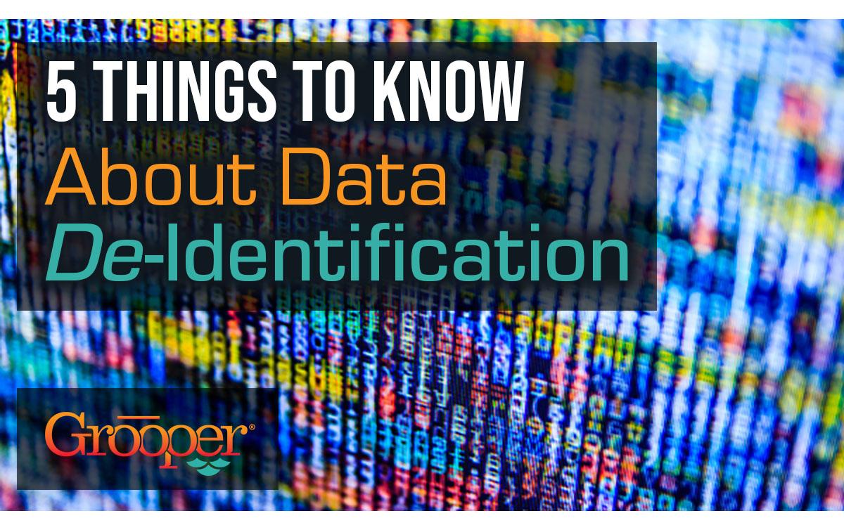 data de-identification