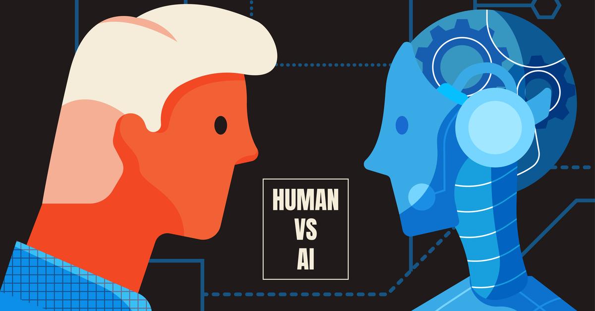 human vs ai